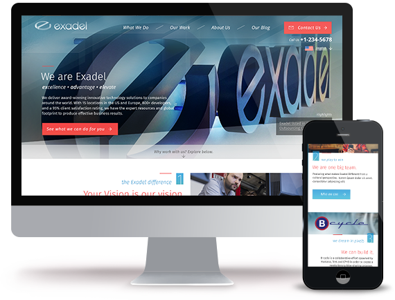 The Exadel Redesign Project