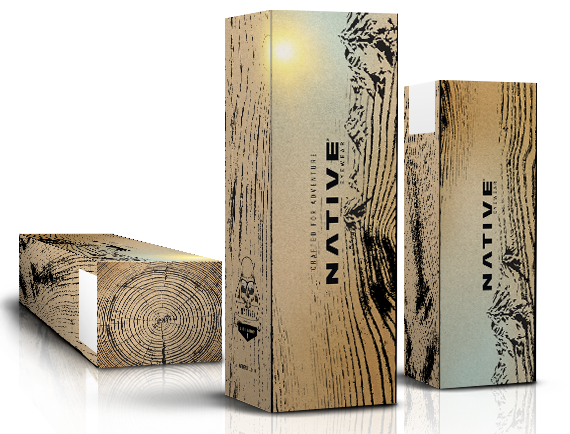 The Native Eyewear Packaging Design project