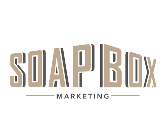 The new logo and identity for Soapbox marketing