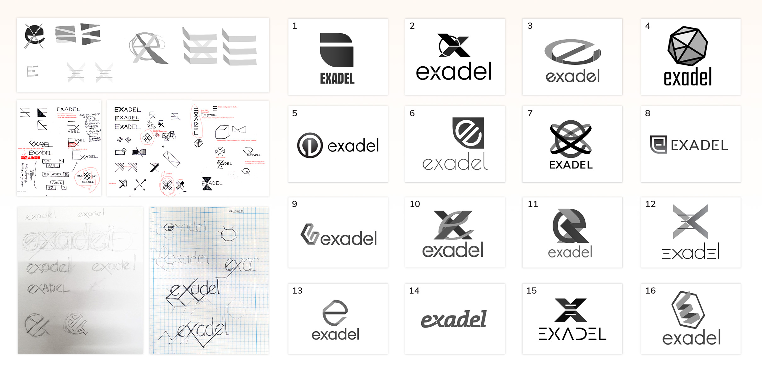 Ideation on the new Exadel Brand